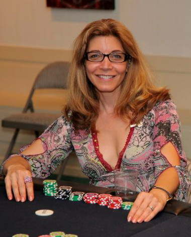 Placing in the Poker Tournament at Wicked Lit's Fundraiser